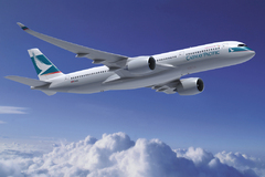 Airbus A350-900 de Cathay Pacific