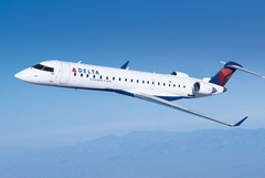 CRJ700 aux couleurs de Delta Connection (Skywest Airlines)