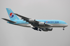L'A380 Korean Air au Bourget 2011
