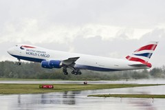 Boeing 747-8F  British Airways World Cargo