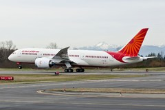 Boeing 787 Dreamliner d'Air India