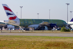A380 de British Airways