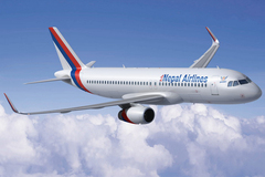 Airbus A320 sharklets Nepal Airlines