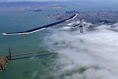 Solar Impulse à San Francisco