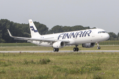 Airbus A321 sharklets Finnair