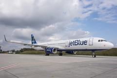Airbus A321 sharklets Jetblue