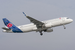 Airbus A320 Qingdao Airlines