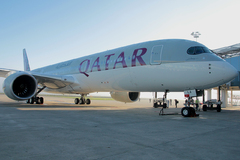 Cérémonie Airbus A350 Qatar Airways