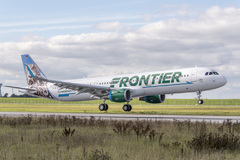 Airbus A321 Frontier Airlines