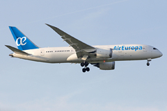 infographie Boeing 787 Air Europa