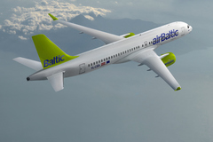 Bombardier Cseries CS300 Air Baltic