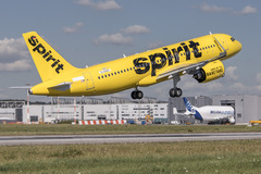 Airbus A320neo Spirit Airlines