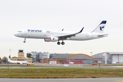 Airbus A321 Iran Air