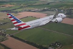Boeing 787-9 American airlines