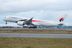 Airbus A350 Malaysia Airlines