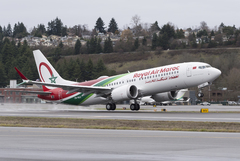 Boeing 737 Max 8 Royal Air Maroc