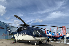 Russian helicopters Mi-38