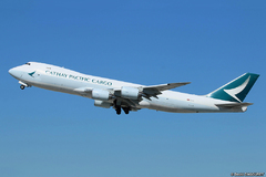 Boeing 747-800 Cathay Pacific Cargo