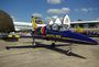 Aero Vodochody L-39C Albatros de la Breitling Jet Team au Salon du Bourget 2009