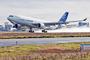 Décollage de l'Airbus A330-20F pour son premier vol