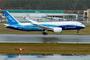 Boeing 787-8 à l'atterrissage