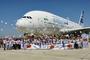 220 enfants devant l'A380 pour fêter les 10 ans d'EADS