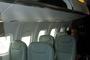 Nouveaux sièges en classe économique dans la cabine de l'ATR 72-600 à Farnborough
