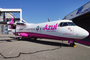 ATR 72-200 rose d'Azul contre le cancer du sein