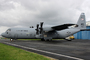 Vol en C130J au Bourget 2011