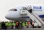 Le Boeing 787, couleurs ANA, est au japon pour effectuer des tests