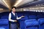 Cabine éco de l'A380 de China Southern