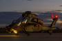 L'un des deux EC665 - Tigre HAD reçus par le 1er RHC, au départ pour un vol de nuit