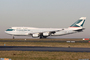 Boeing 747-400 Cathay Pacific