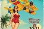 Affiche fête aérienne le temps des hélices