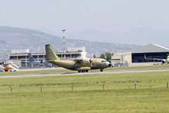 Alenia Delivers the First Modernized G.222 Aircraft to the US Air Force for Afghan National Army Air Corps