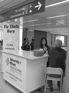 Flu Shots On the Fly