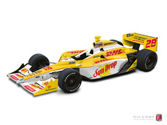 The Race is On: Andretti Autosport's New DHL IndyCar Unveiled