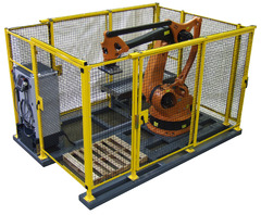 Automated Motion, Inc. Debuts the Innovative P3 Palletizing Cube in KUKA Robotics Booth #360 at Automate 2011