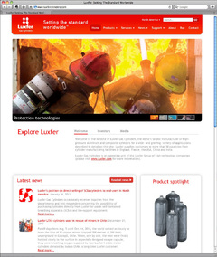 Luxfer Gas Cylinders Launches All-new Website