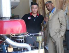 Rep. Allen West Visits Cyclone Power Technologies to Explore Cost-Saving Military Engine Opportunities