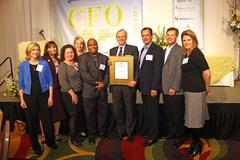 TriQuint's Steve Buhaly Named CFO of the Year for 2010