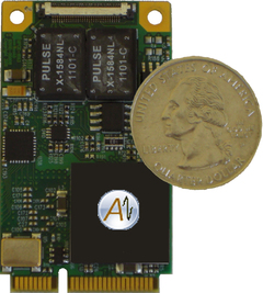 Alta Data Technologies Releases Mini PCI Express MIL-STD-1553 Interface