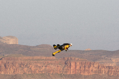 "Breitling's ""Jetman"" Makes History at Grand Canyon West"