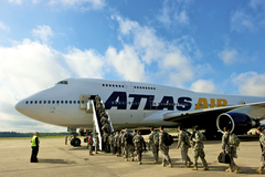 Atlas Air Worldwide Announces Launch of First U.S. Military Passenger Charter Flight