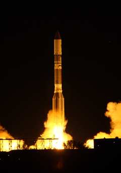 ILS Proton Successfully Launches Telesat's Telstar 14R/Estrela do Sul 2 Satellite