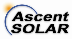 Ascent Solar Quarterly Earnings Conference Call Announcement