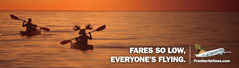 Frontier Spokesanimals Step off Plane Tails in New Ad Campaign