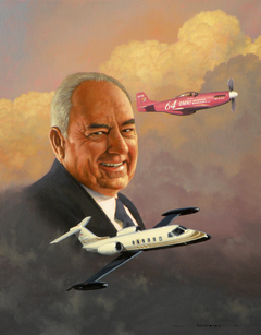 Veteran Pilot, Business Aviation Entrepreneur Clay Lacy to Receive Howard Hughes Memorial Award from Aero Club of Southern California