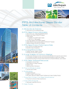 PPG Introduces Online Design and Specification Binder for Architectural Glass