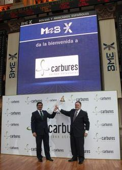 Carbures Joins Madrid Stock Exchange